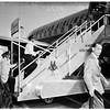 Franchot Tone Arrival, 1951