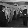 Civil Defense Diploma Presentations ...First Graduating Class, Long Beach, 1951