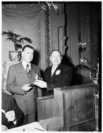 Kiwanis Club, 1951