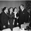 Margaret Truman and others, 1952