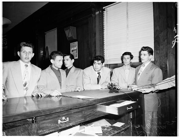 Los Angeles police brutality, 1952