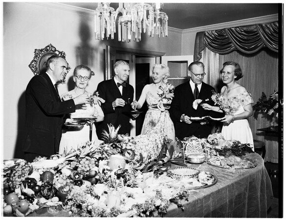 Lee Combs Party, 1951