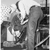 Fireman burned, 1952.