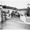 Car into house ...9417 Kittyhawk Avenue, 1952