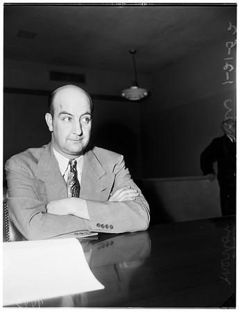 Misener murder preliminary, 1952