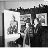 Charity art show, 1952