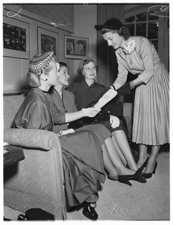 Junior League Rooms of Beverly Hills Hotel, 1951