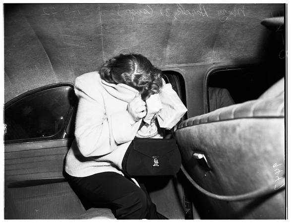Burglary suspect, 1952