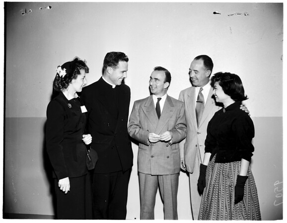 Catholic Youth Organization panel, 1952