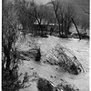 Malibu Lake flooded, 1952