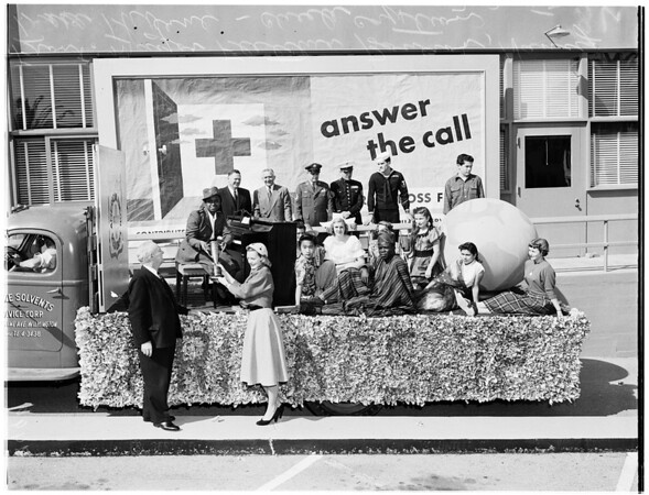 Red Cross campaign starts, 1952