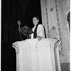 Reverend Ray Holder's first sermon, 1951