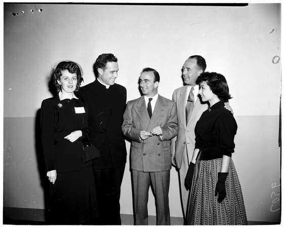 Catholic Youth Organization panel, 1952