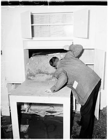Storm aftermath, 1952