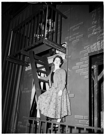"Glendale High School Operetta ""Irene"", 1952"