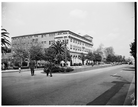 University of Southern California seminar, 1952