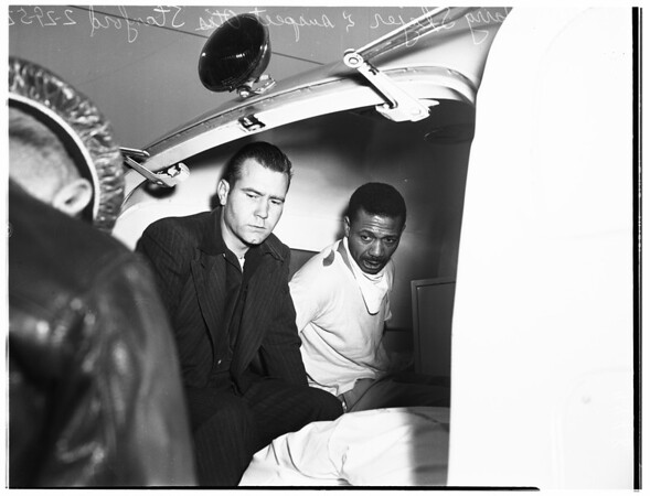 Shooting at 8211 South Broadway, 1952