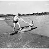 Eighty-five year old swims at Santa Monica, 1952