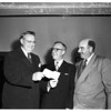 Elks Present five hundred dollars MacArthur check, 1951