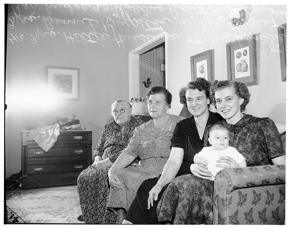 Family reunion, 1951