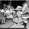 Christmas Party at Orthopaedic Hospital Given by Juniors of League for Crippled Children, 1951
