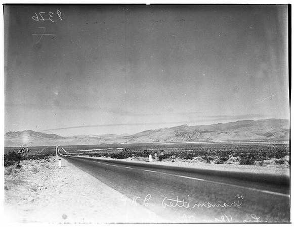 Las Vegas Atom Bomb Blast, 1951