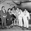 Hawaii delegation en route to Washington, 1952