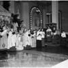 Armenian Cardinal at Saint Vibiana's Cathedral, 1951