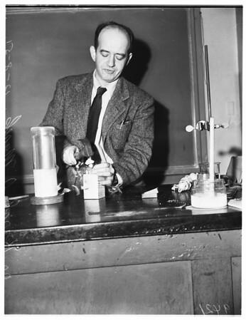 Chemistry open house (University of Southern California), 1951