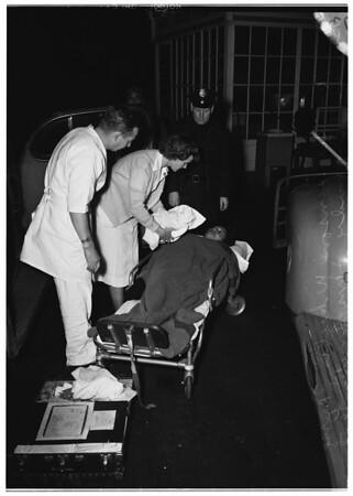 Baby born in car ...1631 South Alameda Street, 1951