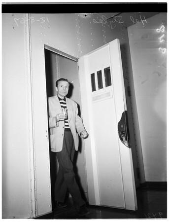 Hal Styles in Jail, 1951