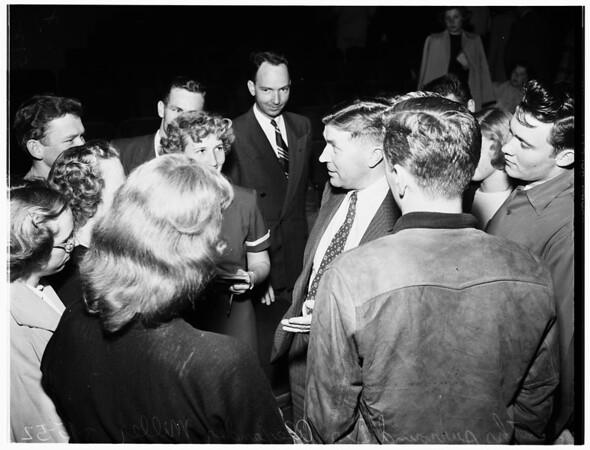 Church convention (Long Beach) Westminster Fellowship Tri-Presbytery, 1952