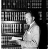 New Municipal Judge for Pasadena Appointed by Governor Warren,  1951
