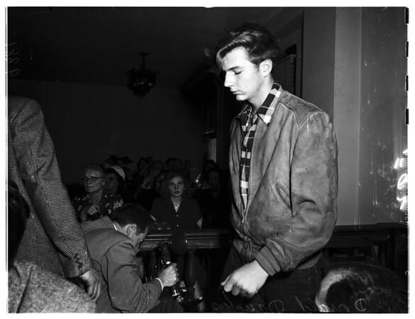 Faravino Hearing, 1951