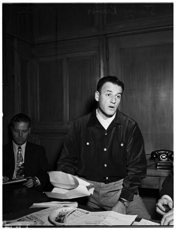 Kramer's libel suit, 1952