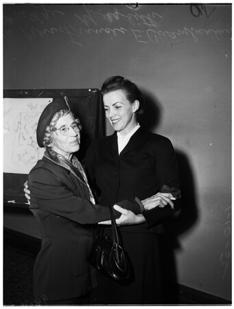 Madge Meredith case, 1952