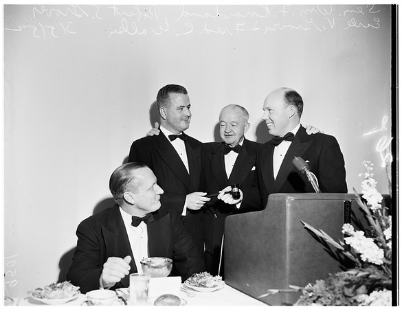 Junior Chamber of Commerce installation, 1952