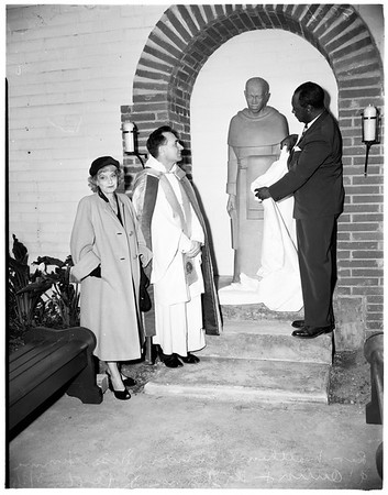 Statue Blessed (Monastery of Angels of the Dominican Order), 1952