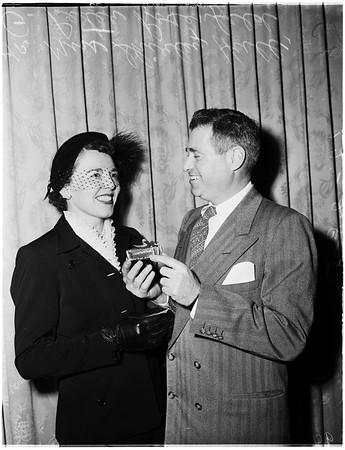 California fashion industry, 1951