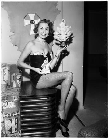 Miss Christmas Tree, 1951
