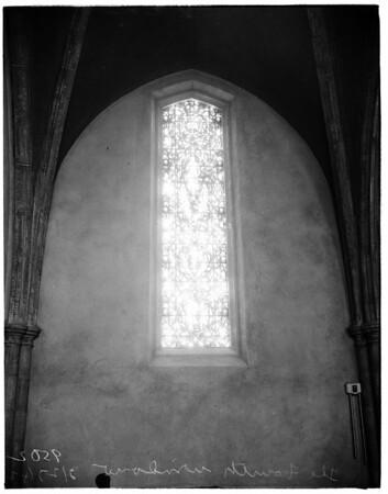 First Congregational Church Sunday School windows, 1952