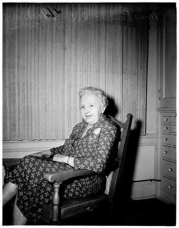 Interview ...(YWCA) Young Women's Christian Association Official, 1952