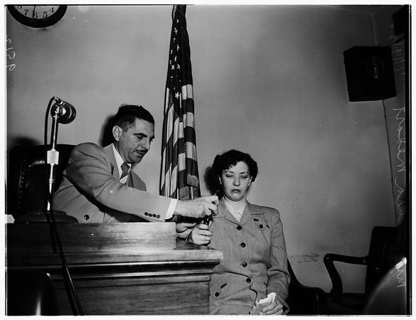 Medart inquest, 1952