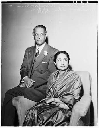 Indian Ambassador, 1952