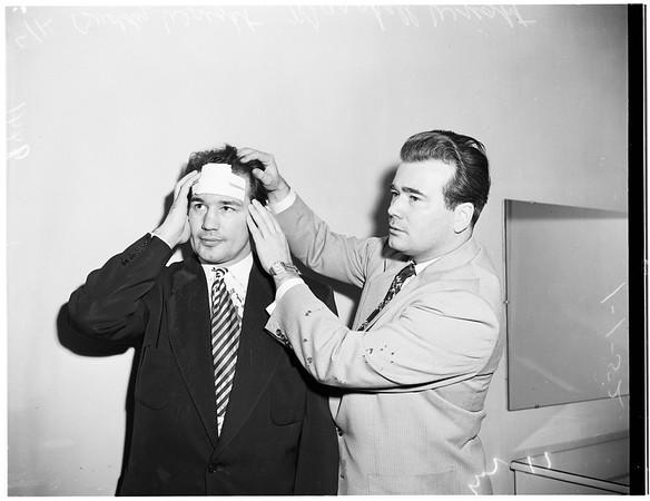 Steve Cochran Fight, 1952