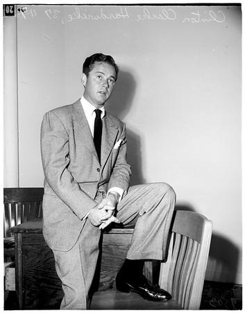 Howard divorce story (Santa Monica), 1952