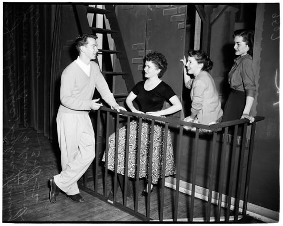 "Glendale High School Operetta ""Irene"", 1952"