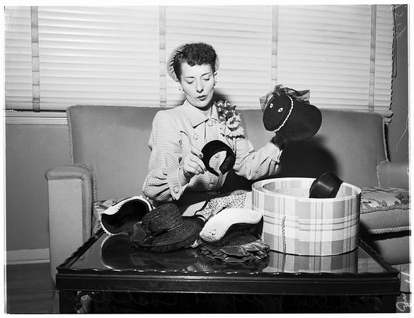 Woman deputy, 1952