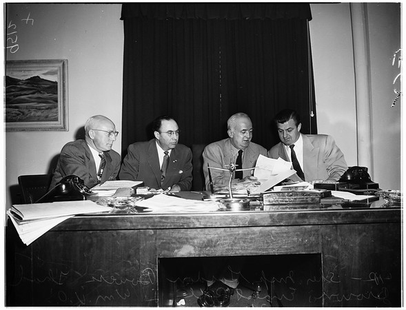 Bombing conference, 1952