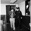 Kidnap arrest in Long Beach, 1952